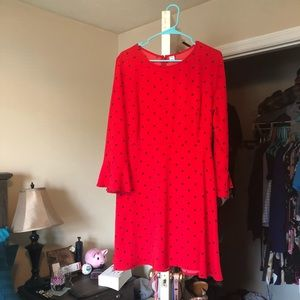 Red Polka Dot Dress from Old Navy